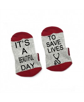 Sokken Grijs Beautiful Day