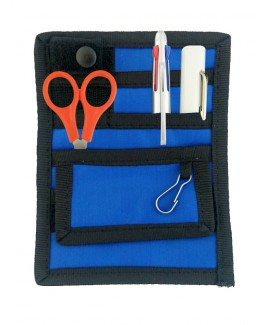 Verpleegkunde Organizer Zwart/Blauw + GRATIS inhoud