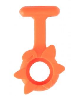 Siliconen Hoesje Lente Bloem Oranje