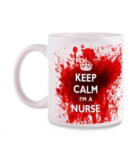Mok Nurse met Naam Opdruk