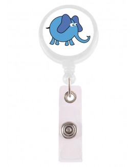 Badge / ID Jojo Olifant Blauw