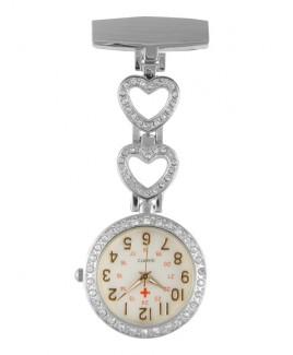VerpleegstersHorloge Love Zilver